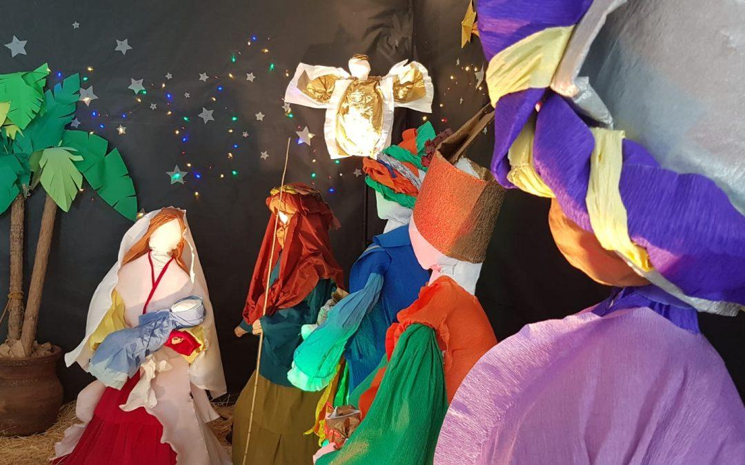 Actividades navideñas en Colegio de Lourdes